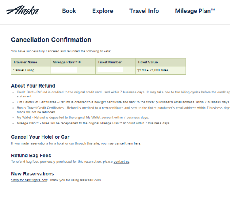 Alaska Airlines Program Topmiles