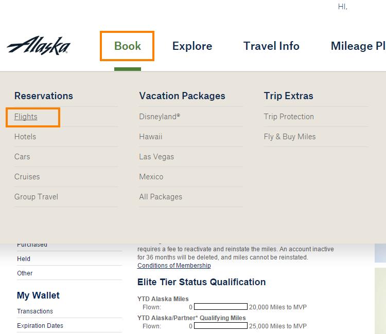 Alaska Airlines Program Topmiles