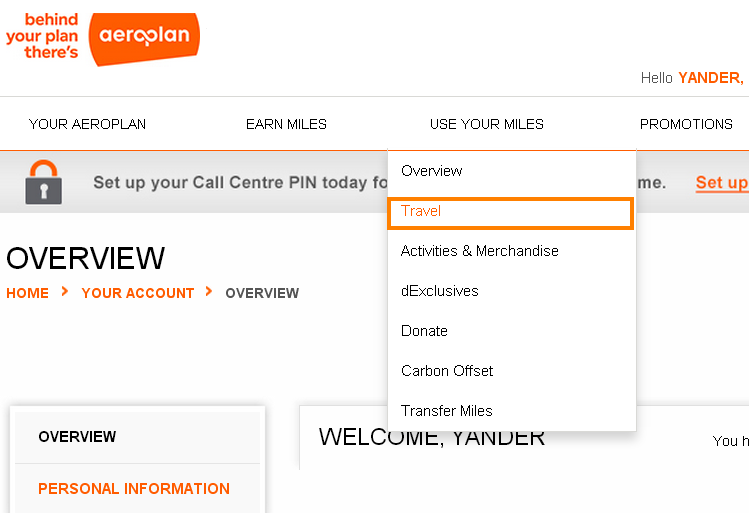 how to add aeroplan miles after flight