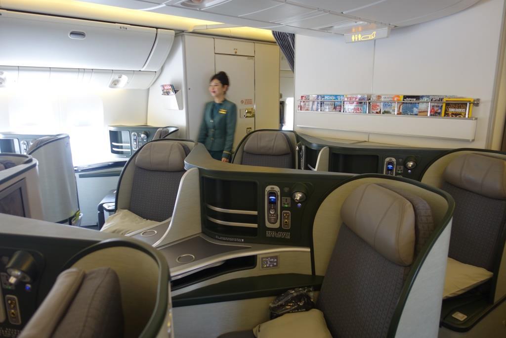Review Eva Air Business Class Royal Laurel Paris To