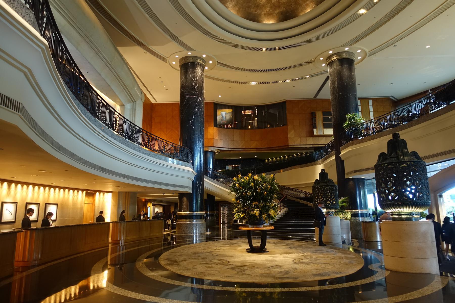 Grand Hyatt Foyer : Review grand hyatt hong kong suite topmiles