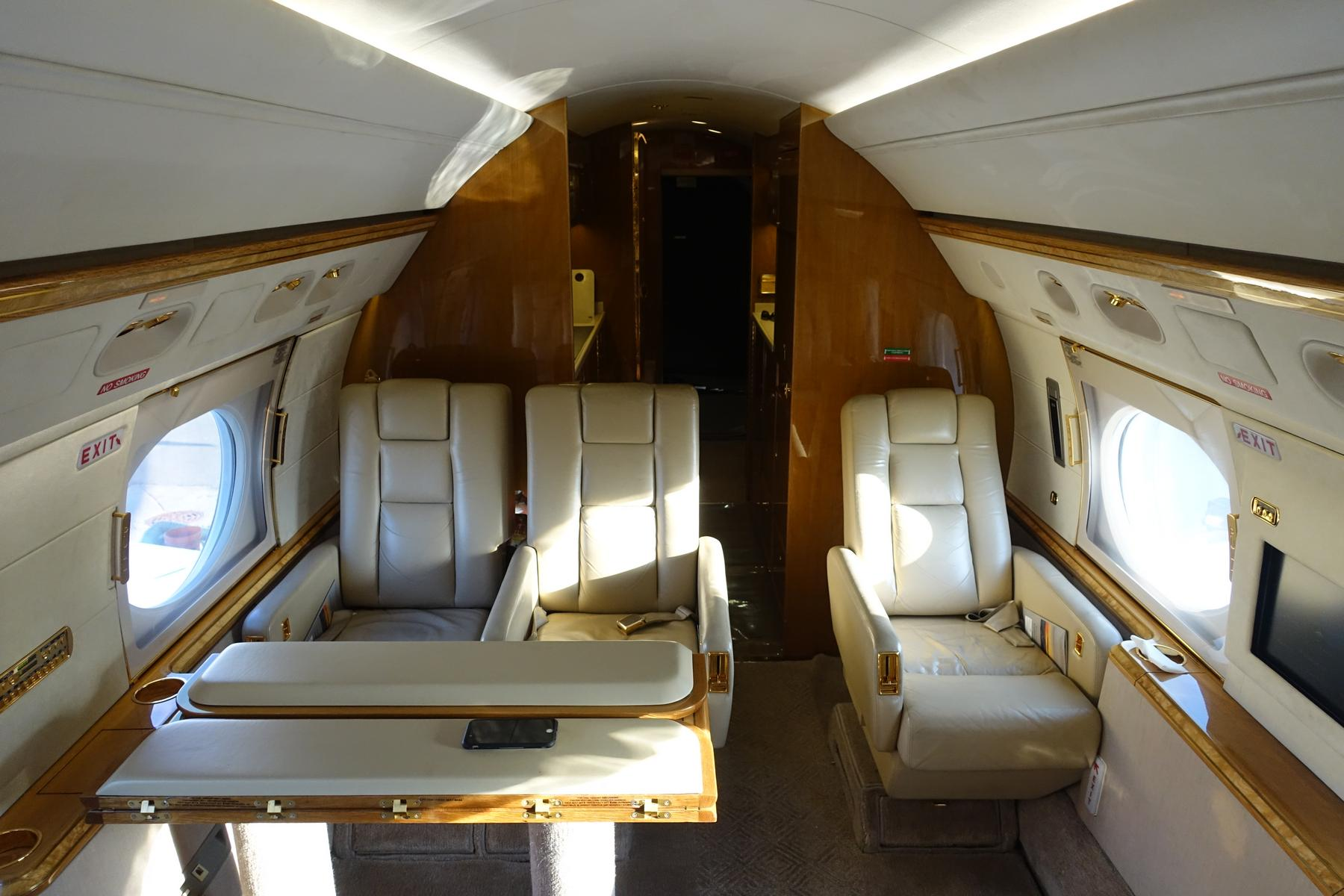 My Free Flight On A 50M Private Jet Gulfstream V G5 From South Beach To Ch