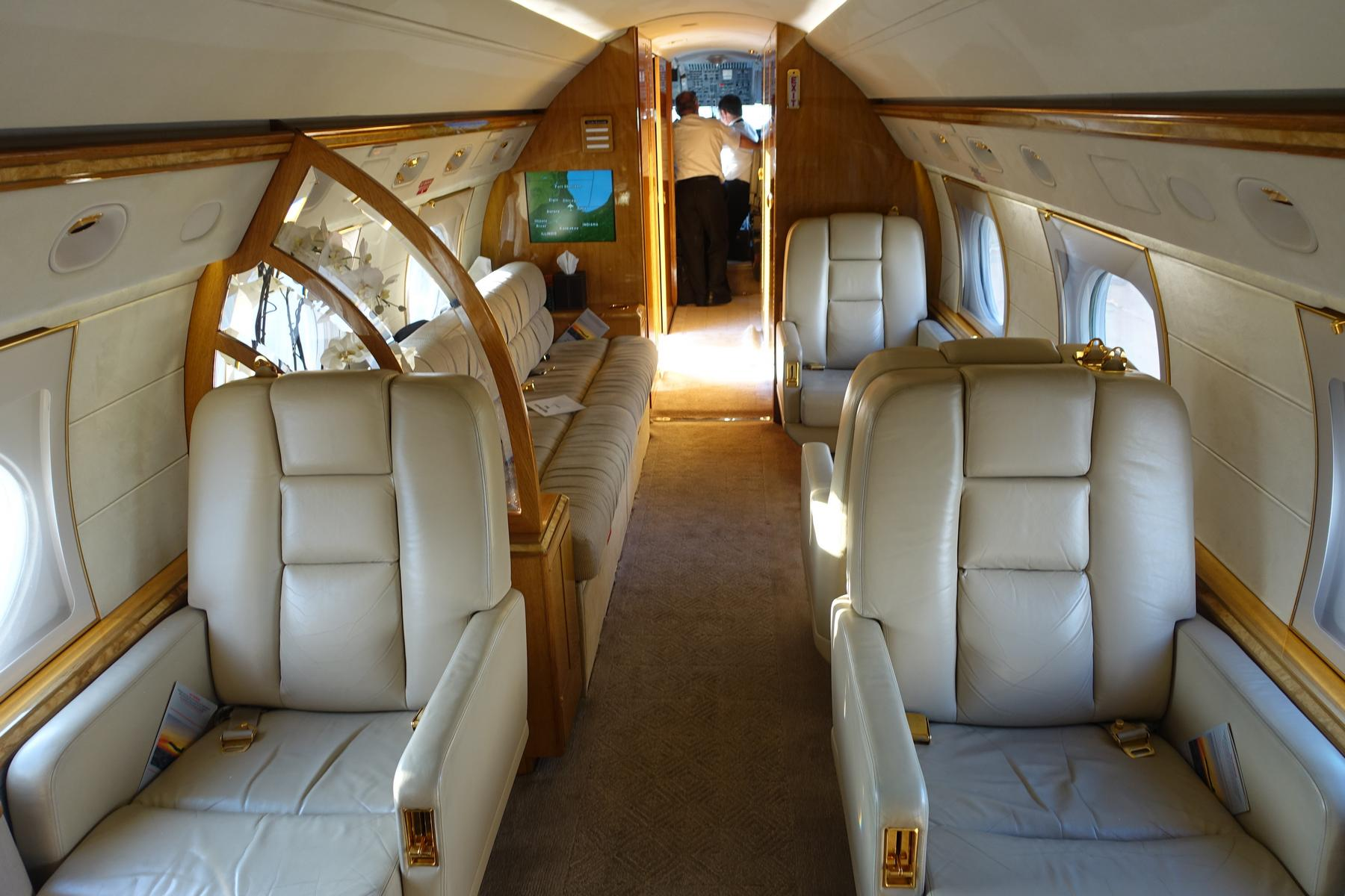My Free Flight On A 50M Private Jet Gulfstream 5 G5 From South Beach To Ch