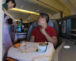 Review: Eva Air Business Class (Royal Laurel) - Paris to Taipei