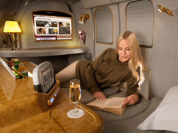 Emirates first class | Topmiles
