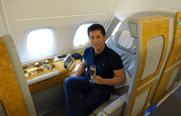 My 60 000 Trip Around The World In Emirates First Class